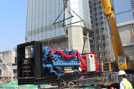 康明斯发电机在实际的机械转移使用中部件的电气和机械完整性